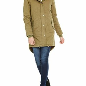 92442 1 bench damen core cotton parka