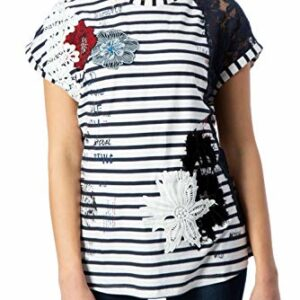 92989 1 desigual damen ts refresh t sh